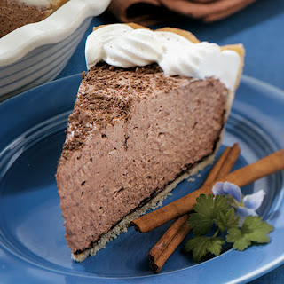 Mexican Chocolate Cream Pie.