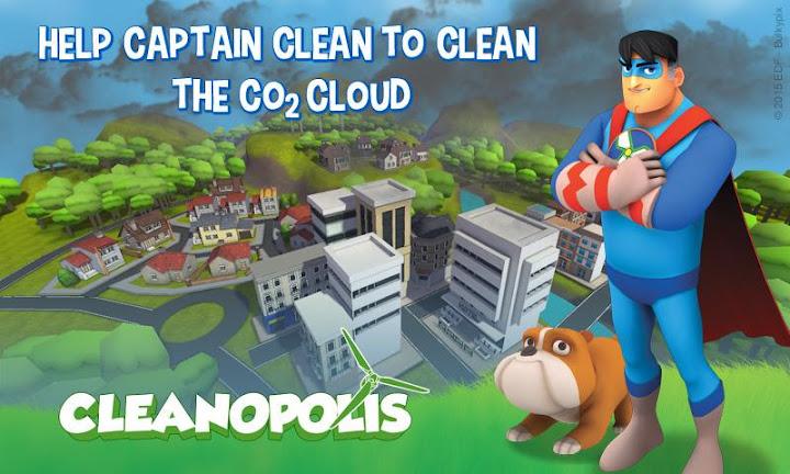 Cleanopolis VR Android App Screenshot
