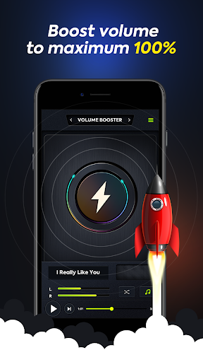 Volume Booster - Music Player with Equalizer 2.0 screenshots 2
