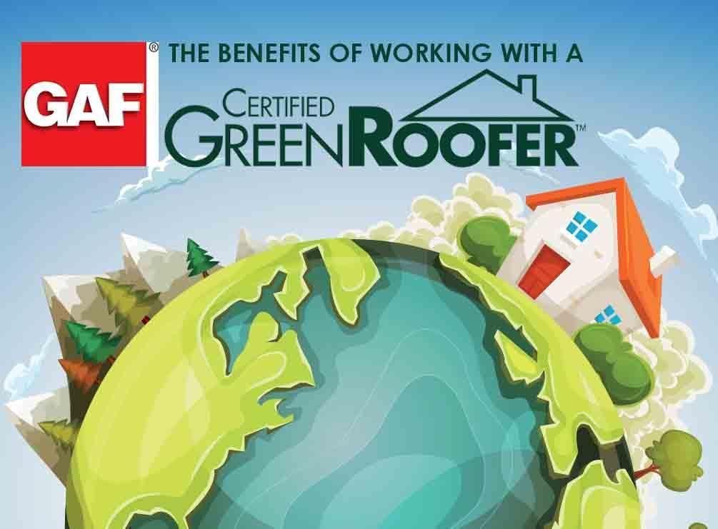 GAF® Certified Green Roofer™