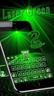 App Green laser Keyboard Theme Neon Light APK for Windows Phone