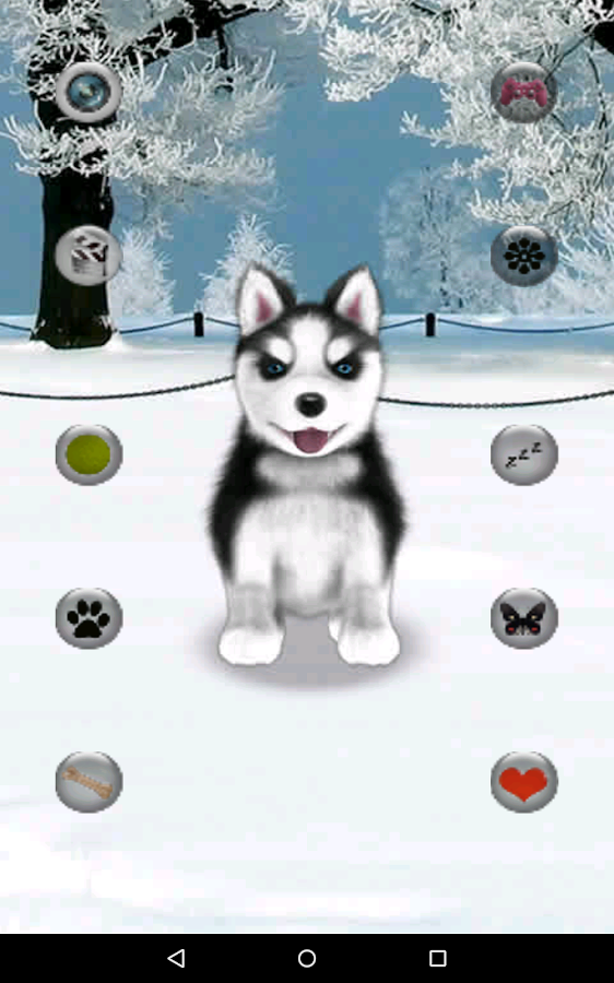 Talking Husky- screenshot