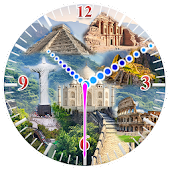 Seven Wonders Clock Wallpaper Android APK Download Free By TrendZone Apps