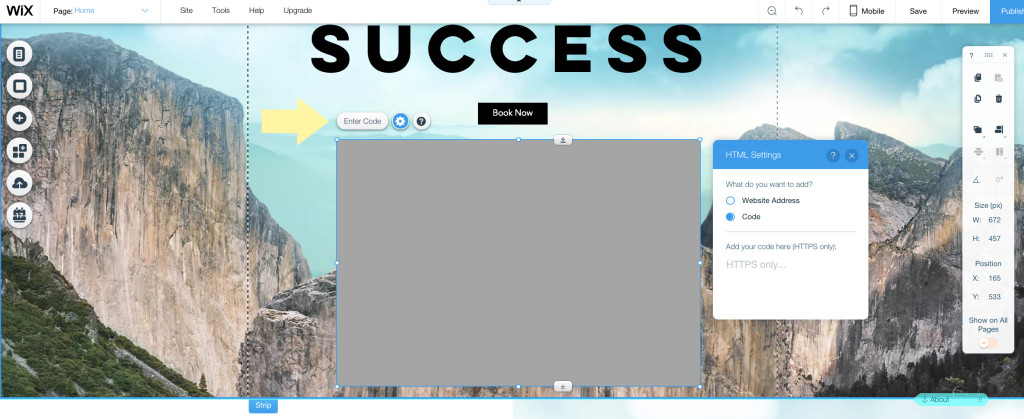 How to add a quiz to Wix
