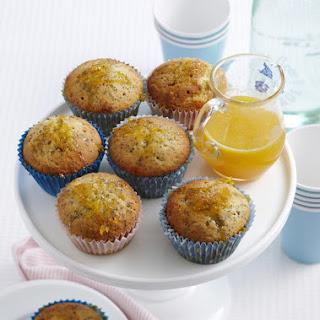Poppyseed Orange Cupcakes