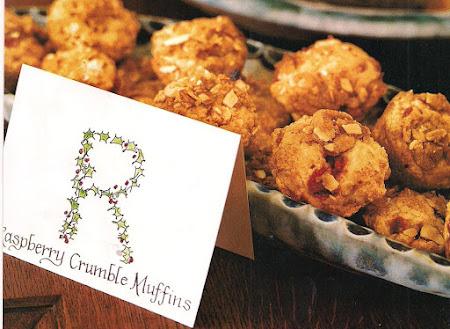 raspberry crumble muffins Recipe