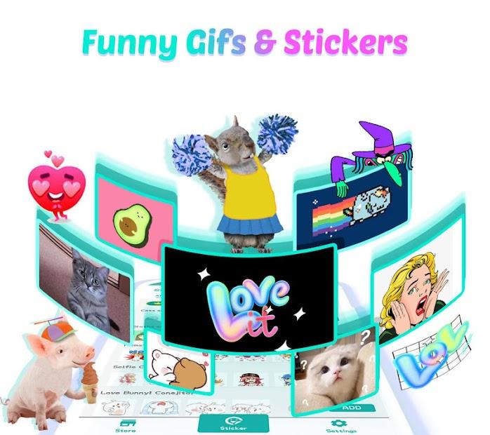 Kika Keyboard 2019 - Emoji Keyboard, Emoticon, GIF