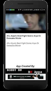 Allu Arjun Best Action Scenes - náhled