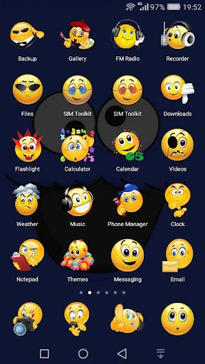 Emoji Theme Huawei and Honor phones EMUI by Angela Fabian (Google