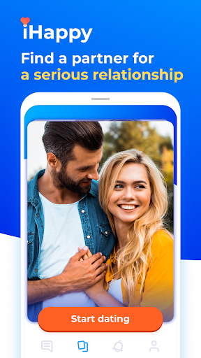 Dating and chat - iHappy 1.0.32 screenshots 1