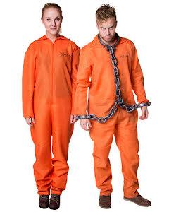 Fångdräkt, orange