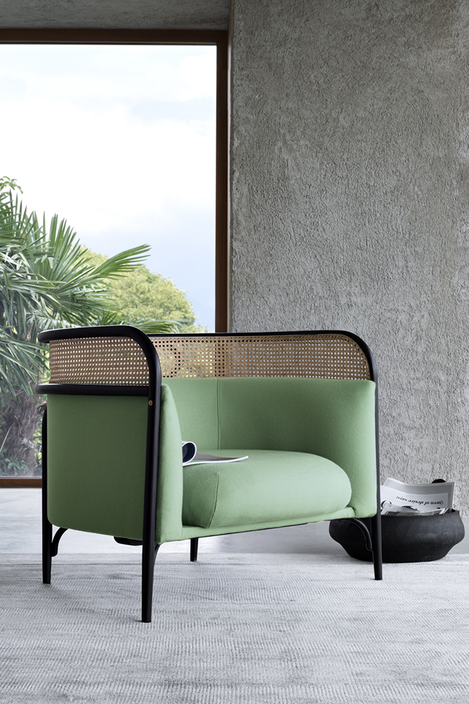 Wiener GTV Design's Targa Lounge chair.