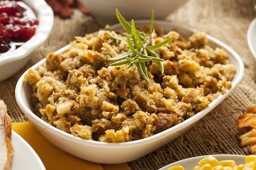 Old-Fashioned Potato Bread Stuffing