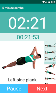 Plank Timer- screenshot thumbnail