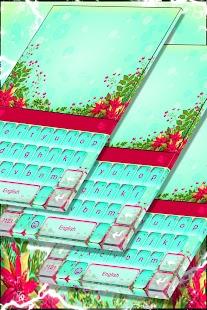 Květinová klávesnice Téma - náhled