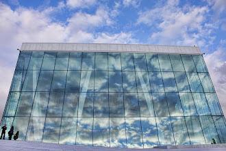 Photo: Sky Canvas Oslo Opera House in Oslo, Norway  空のキャンバス ノルウェー、首都オスロ オスロオペラハウス
