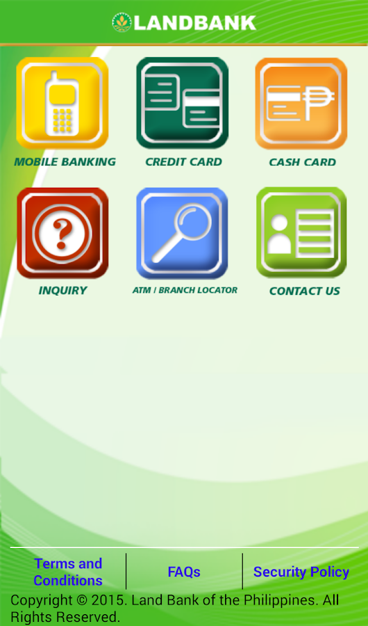 LANDBANK Mobile Banking- screenshot
