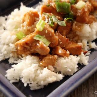 Crock-Pot Honey Sesame Chicken.