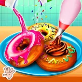 Sweet Donut Shop - Kids Cooking Games