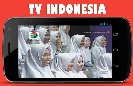 Screenshot for tv indonesia - indosiar tv in Hong Kong Play Store