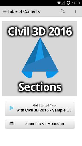 C3D Sections - 2016