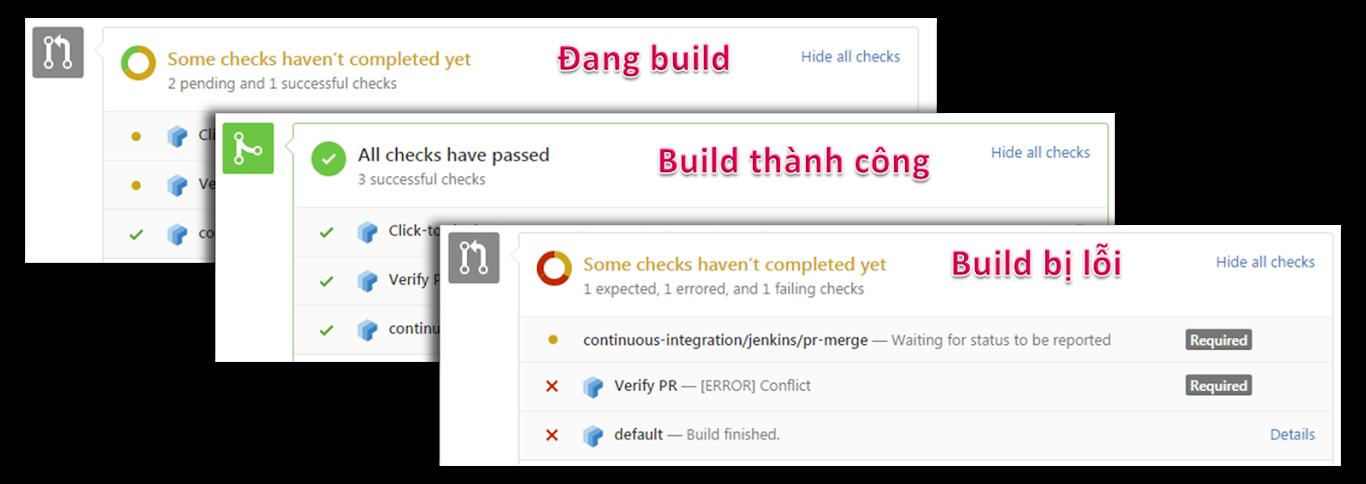 status build code
