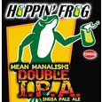 Logo of Hoppin' Frog Mean Manalishi Double IPA