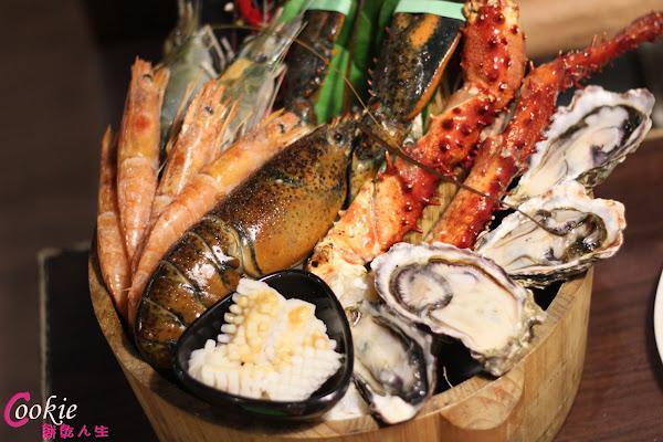 燒肉眾 精緻食材吃到飽,和牛,天使紅蝦,泰國蝦,牛舌,Prime無骨牛小排太讚了啦!