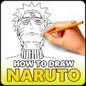 Как нарисовать Наруто icon