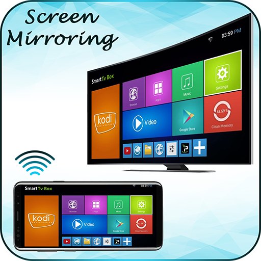 Screen mirroring connect mobile to tv app