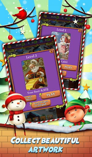 Xmas Mahjong: Christmas Holiday Magic android2mod screenshots 4