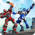 Robot Fight Street Brawl Real Robot Fighting Games icon