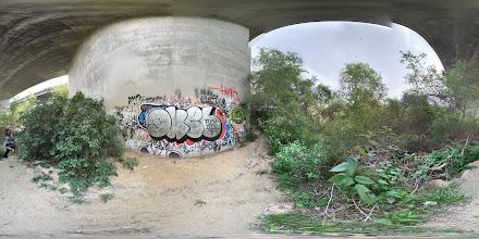 Photo: Trestles Graffiti Gallery