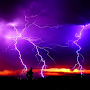 Thunder And Lightning HD LWP