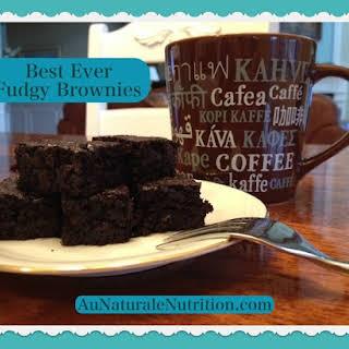 Best Ever Fudgy Brownies.