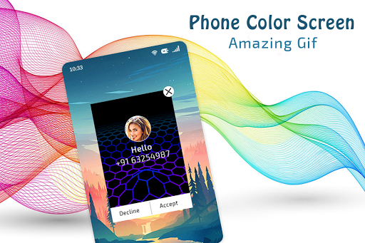 Color Phone Call Flash Screen screenshots 5