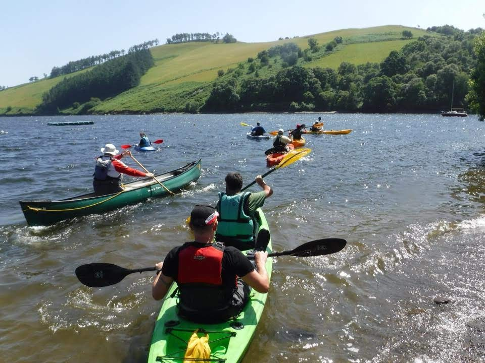 Chance to try out some sailing at Clywedog