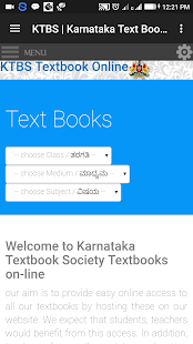 Download Karnataka Textbooks 1st to 10th Std For PC Windows and Mac apk screenshot 1