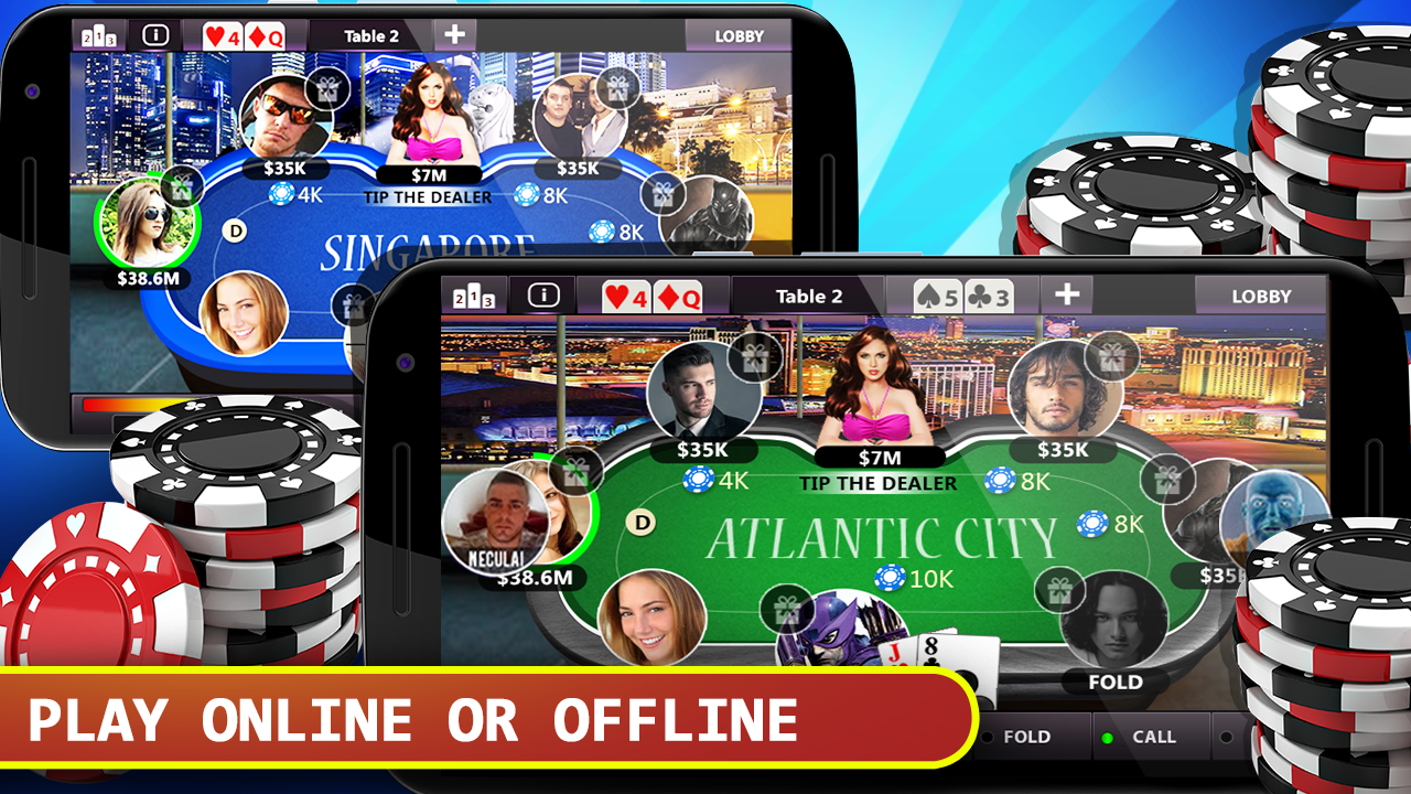 Games poker offline