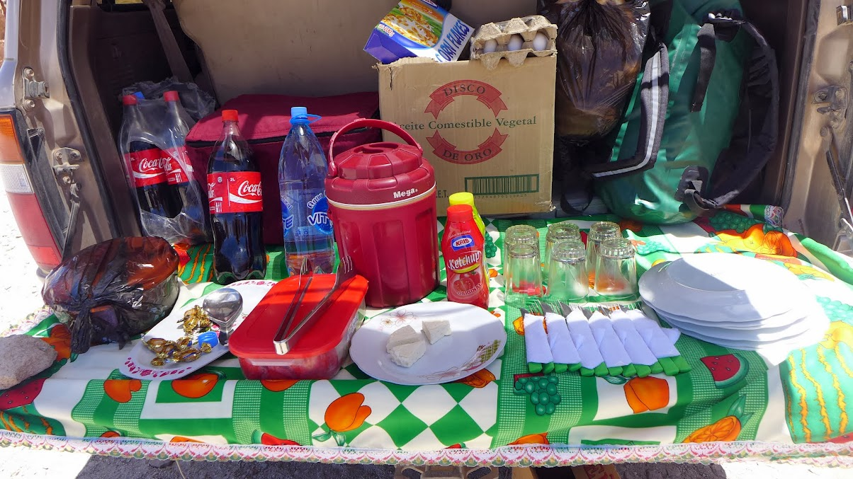 Best Bolivian picnic ever.