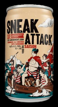Logo of 21st Amendment Sneak Attack