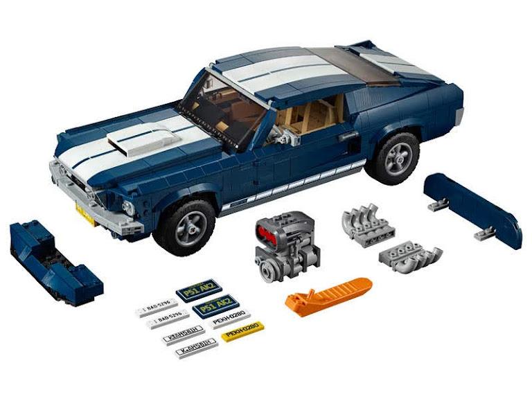 Contenido de Lego® 10265 Ford Mustang