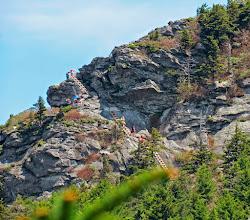 Photo: Ladders on Attic Window Peak zoomed way in