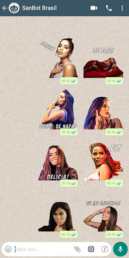 Anitta Stickers Pro para WhatsApp  screenshots 2