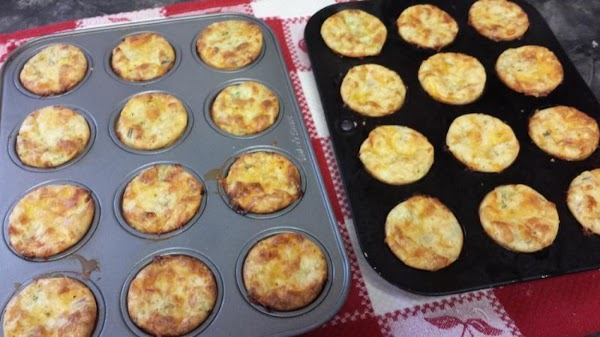 Bake the mini quiches at 400°F for 22 to 25 minutes. Cool in the...