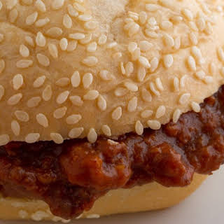 Slow Cooker Barbecue Spoon Burgers (Sloppy Joes).