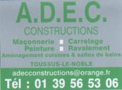 Société ADEC CONSTRUCTIONS