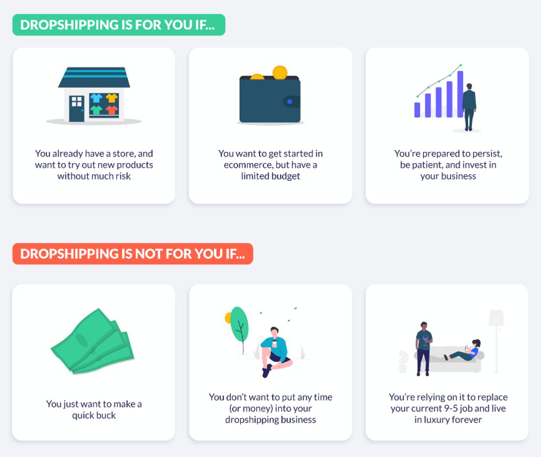 should you dropship