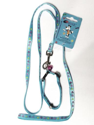 accesorio para mascotas resun collar con paseador 10mm
