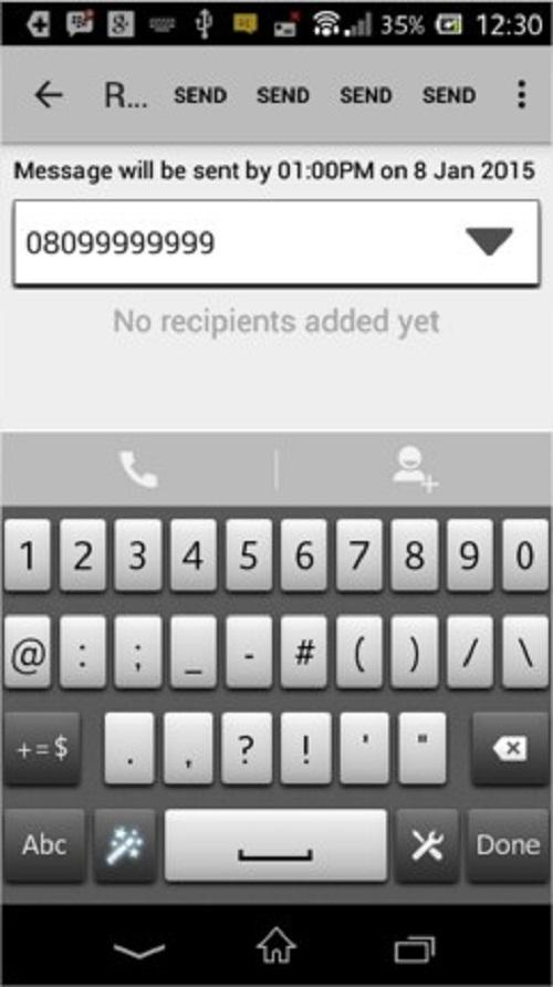 EasyTech SMS- screenshot
